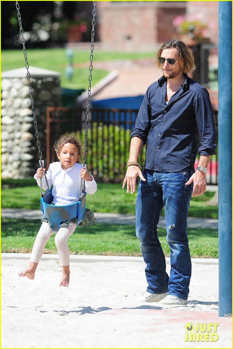 gabriel aubry park playtime with nahla 222858356