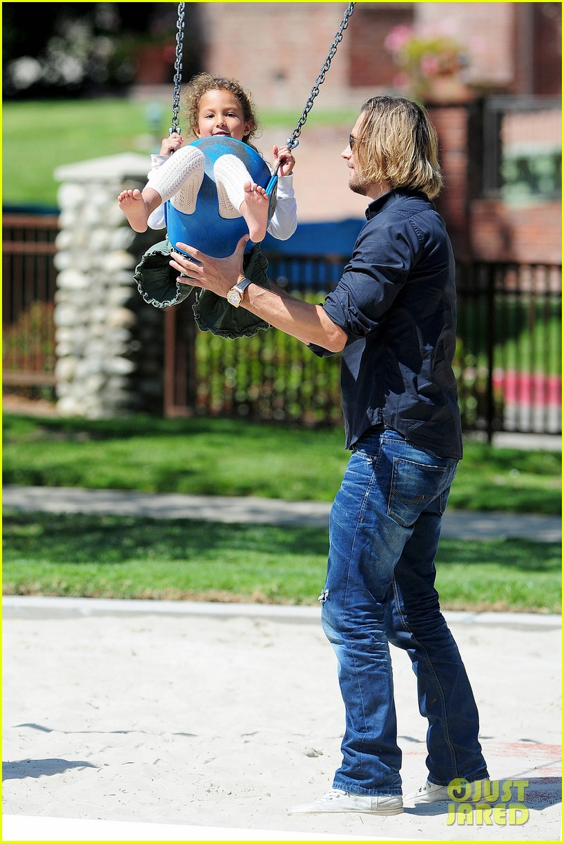 gabriel aubry park playtime with nahla 242858358