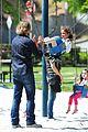 gabriel aubry park playtime with nahla 14