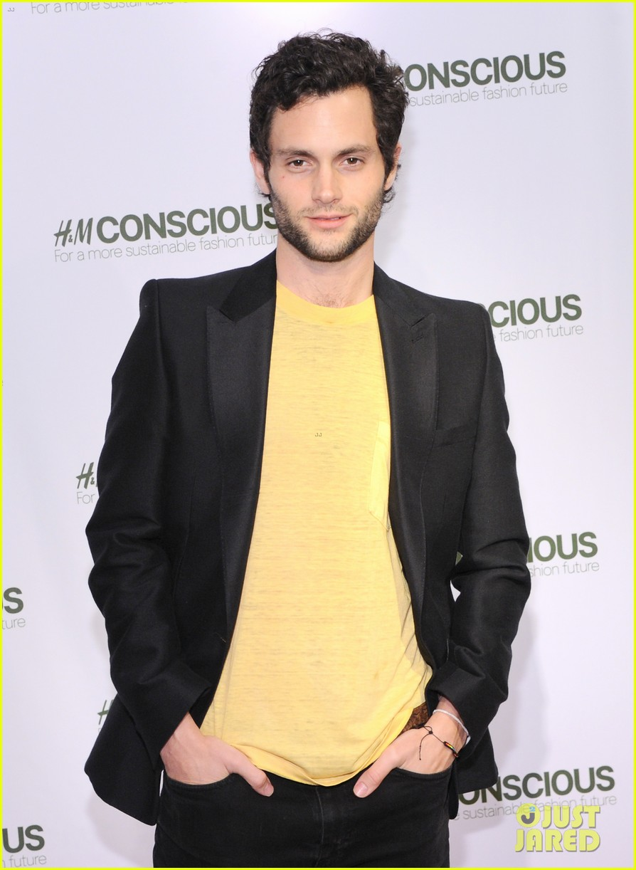 penn badgley victoria justice hm collection launches 072843572