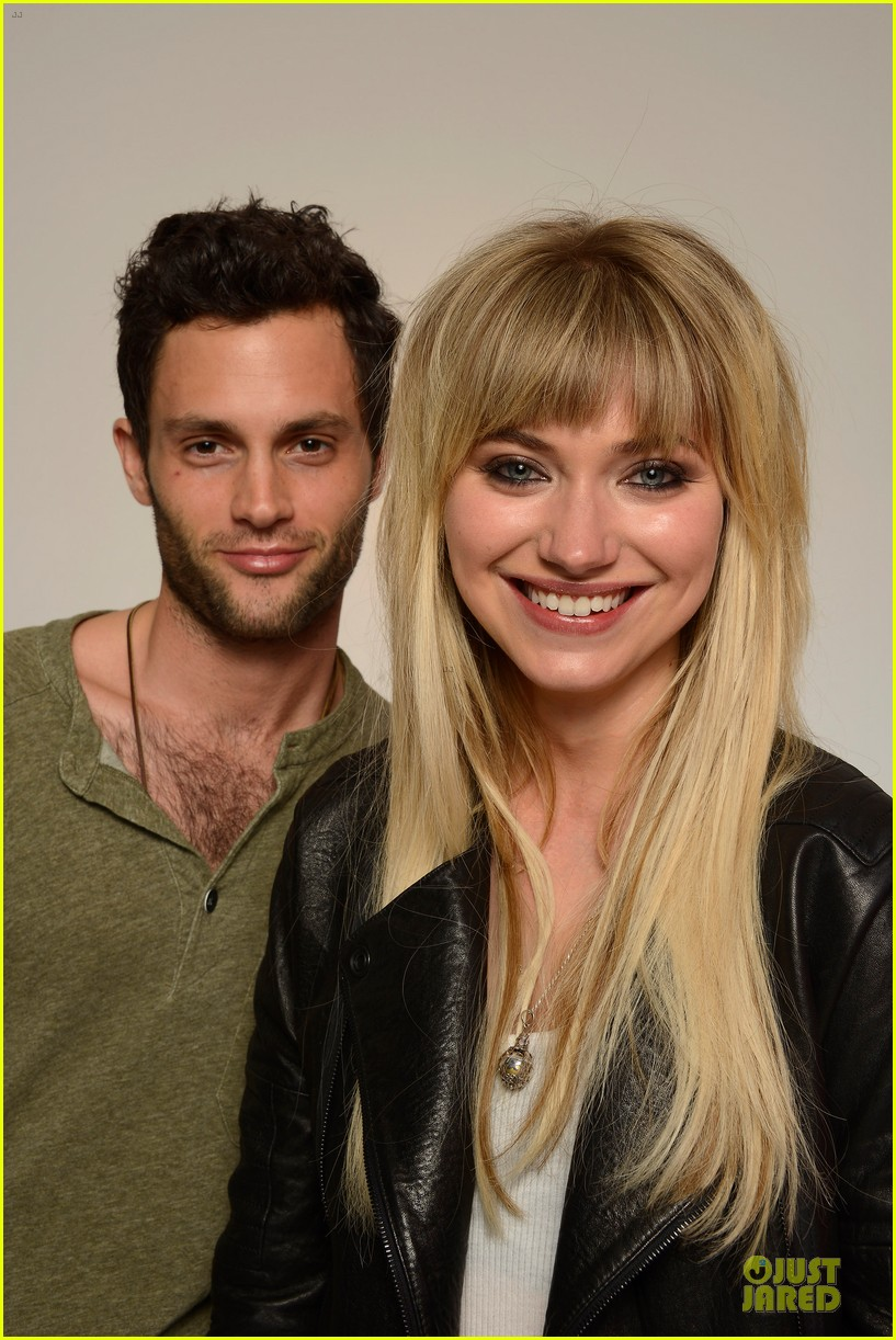 penn badgley imogen poots greetings from tim buckley tribeca premiere 112856759