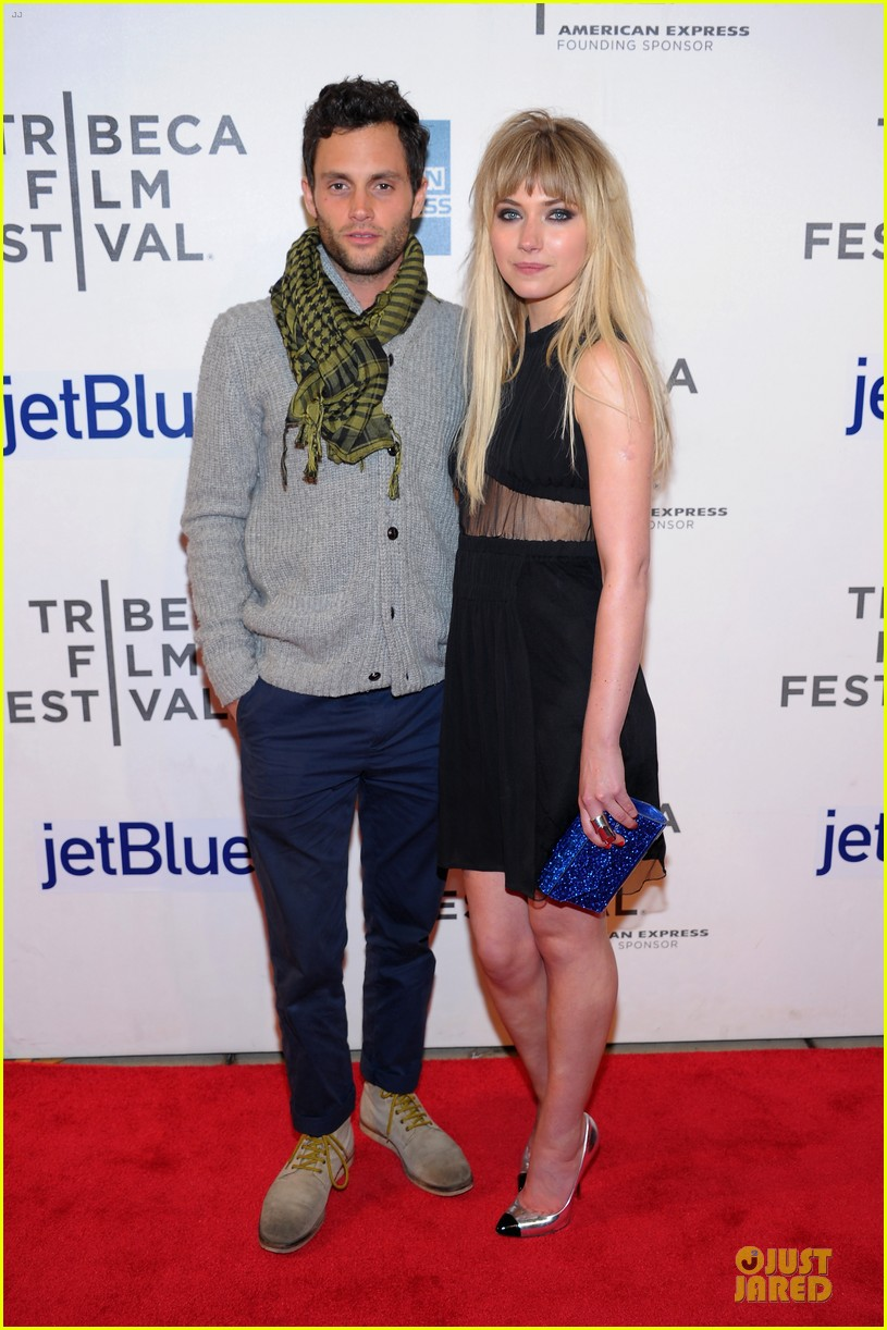 penn badgley imogen poots greetings from tim buckley tribeca premiere 152856763