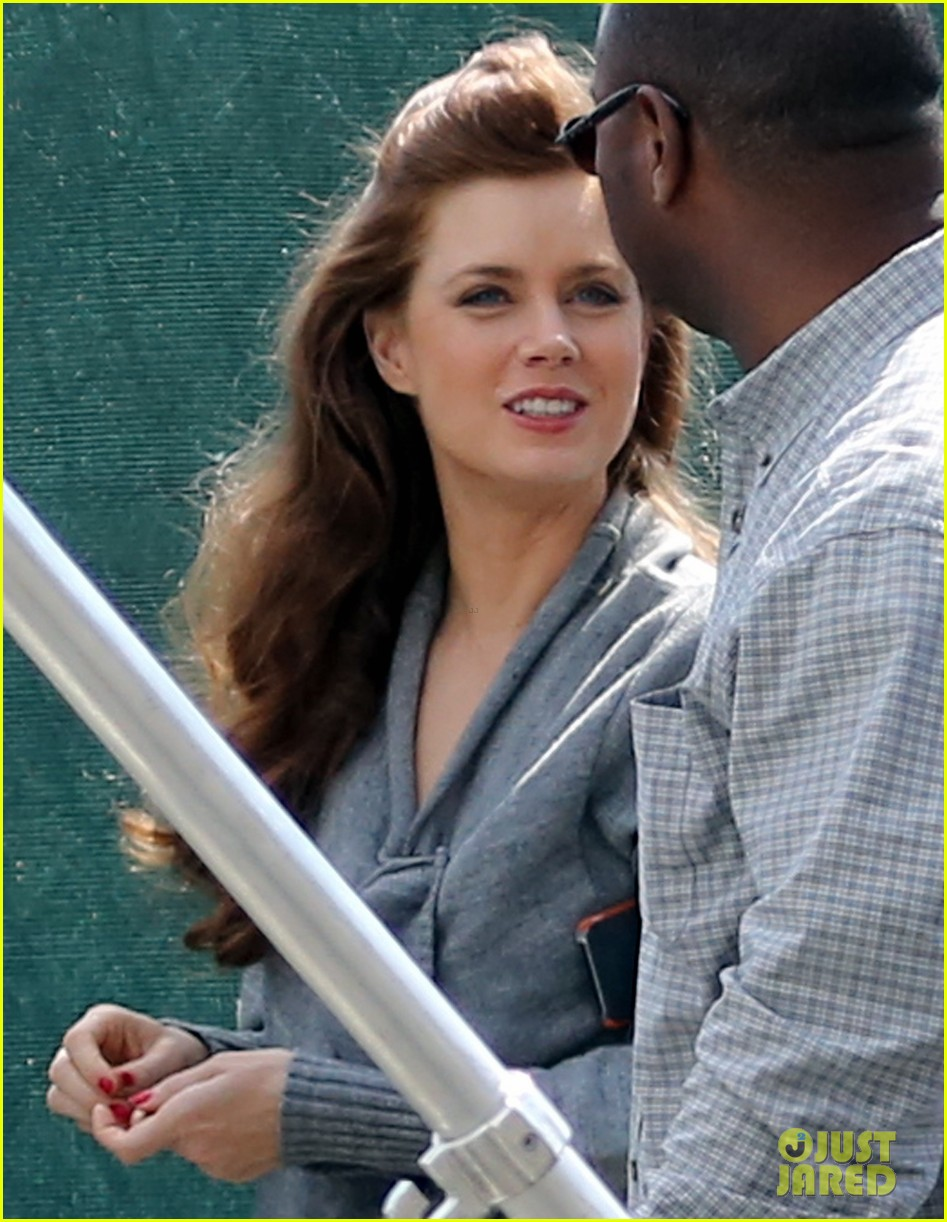 christian bale amy adams lunch break on set 022842028
