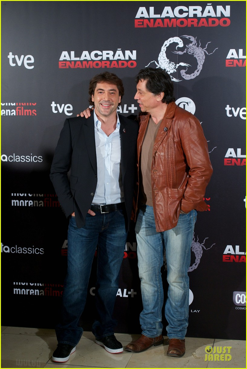 javier bardem alacran enamorado photo call with brother carlos 132846653