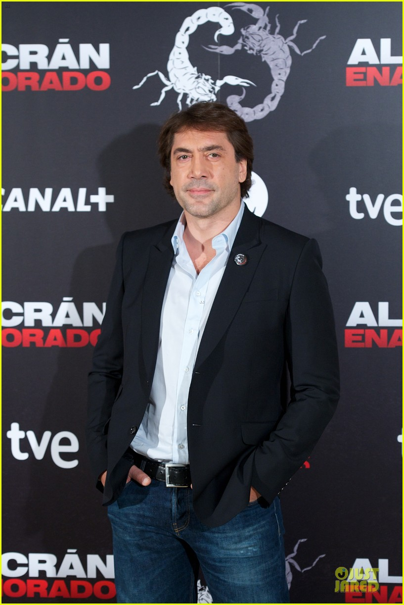 javier bardem alacran enamorado photo call with brother carlos 172846657