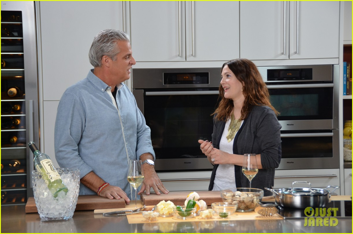 drew barrymore cooks with chef eric ripert watch now 062852440