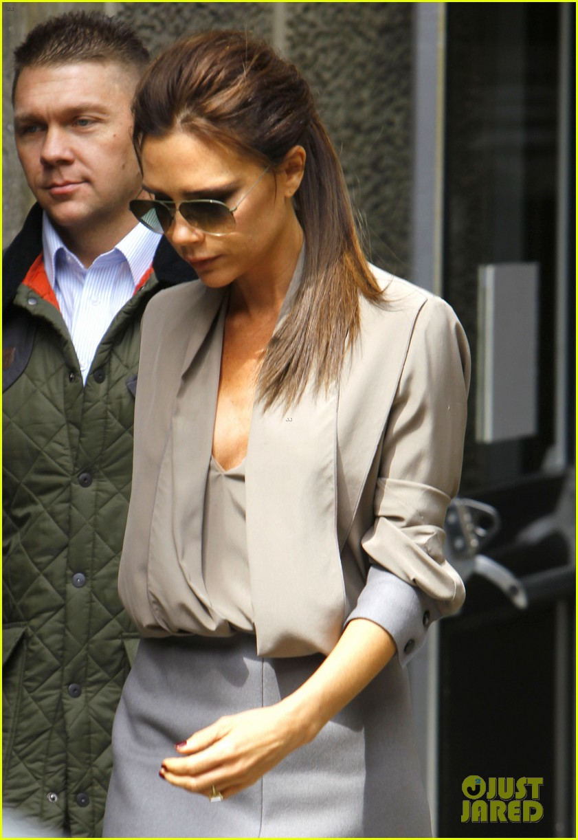 victoria david beckham separate london outings 062860657