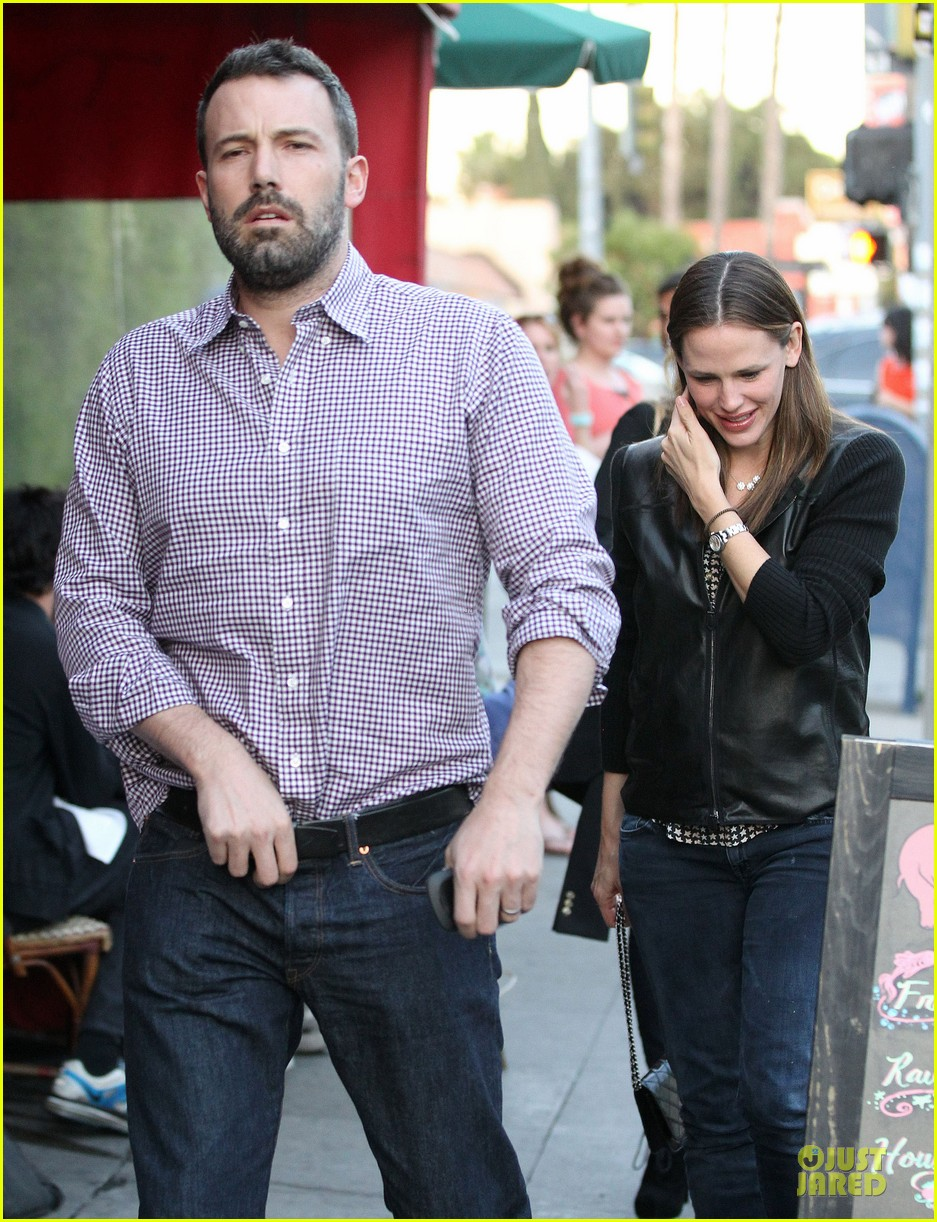 jennifer garner ben affleck hollywood dinner date 332854100