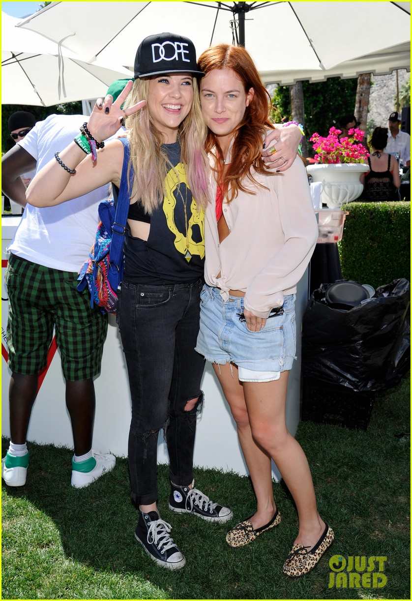 ashley benson riley keough guess pool party 122850419