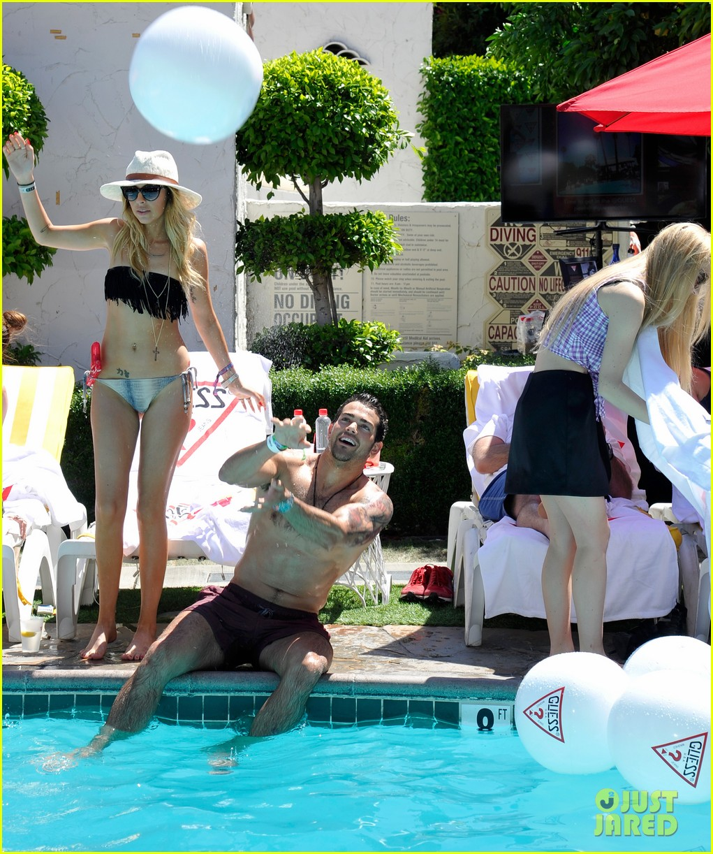 ashley benson riley keough guess pool party 152850422