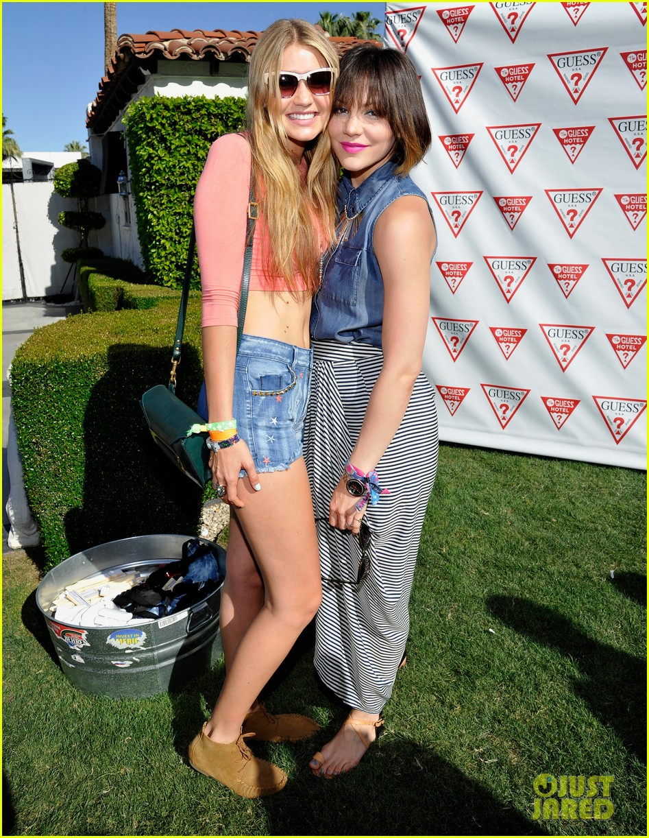ashley benson riley keough guess pool party 202850427