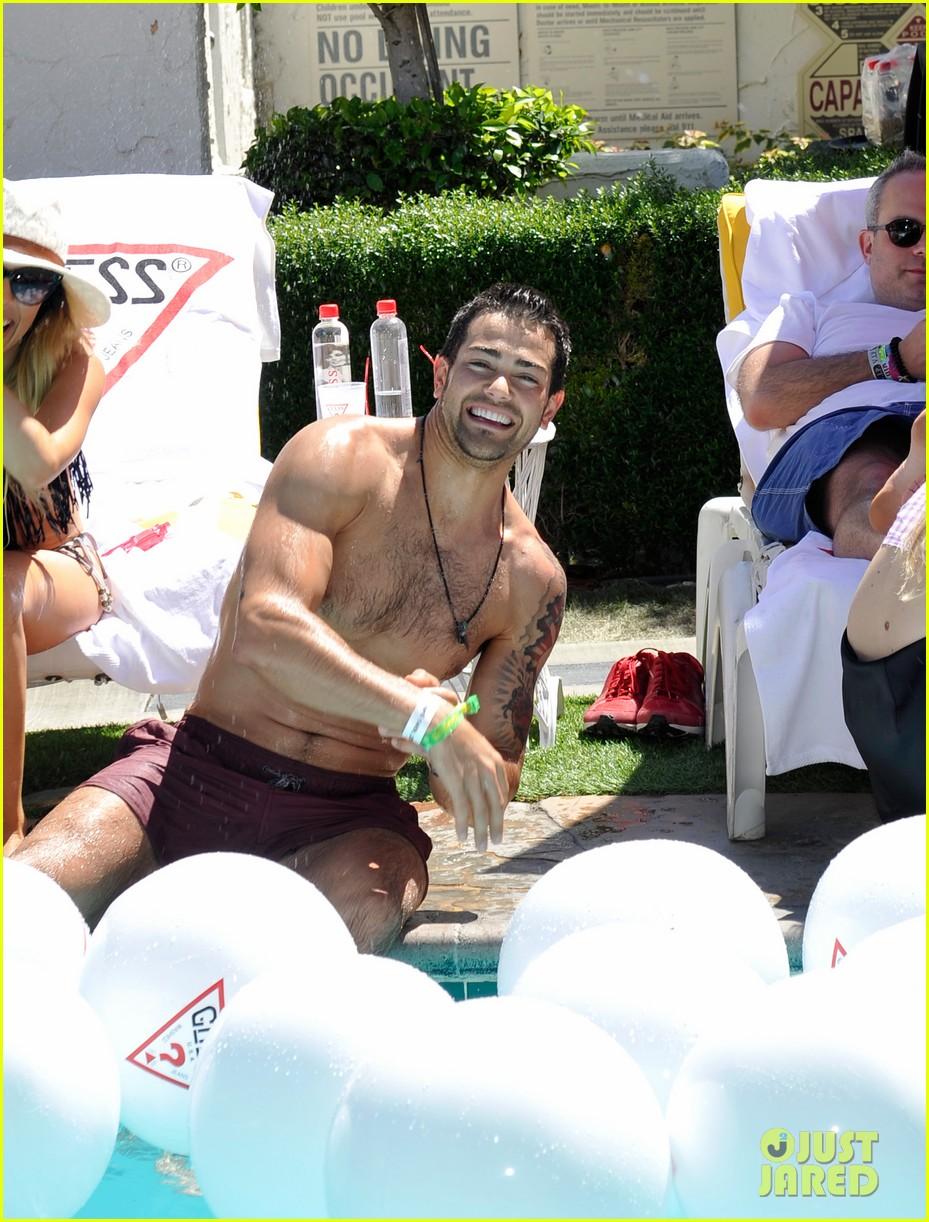 ashley benson riley keough guess pool party 212850428
