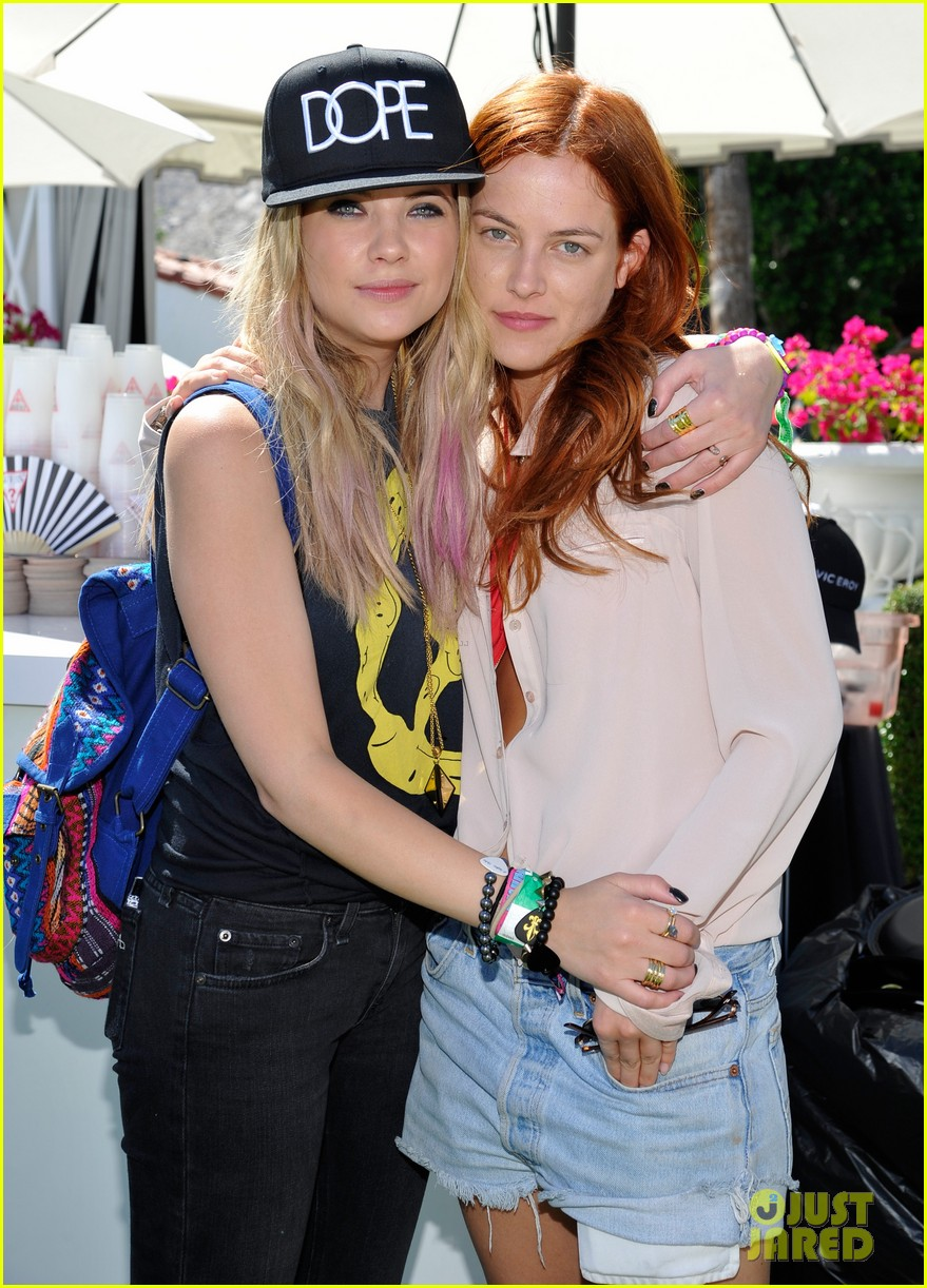 ashley benson riley keough guess pool party 232850430