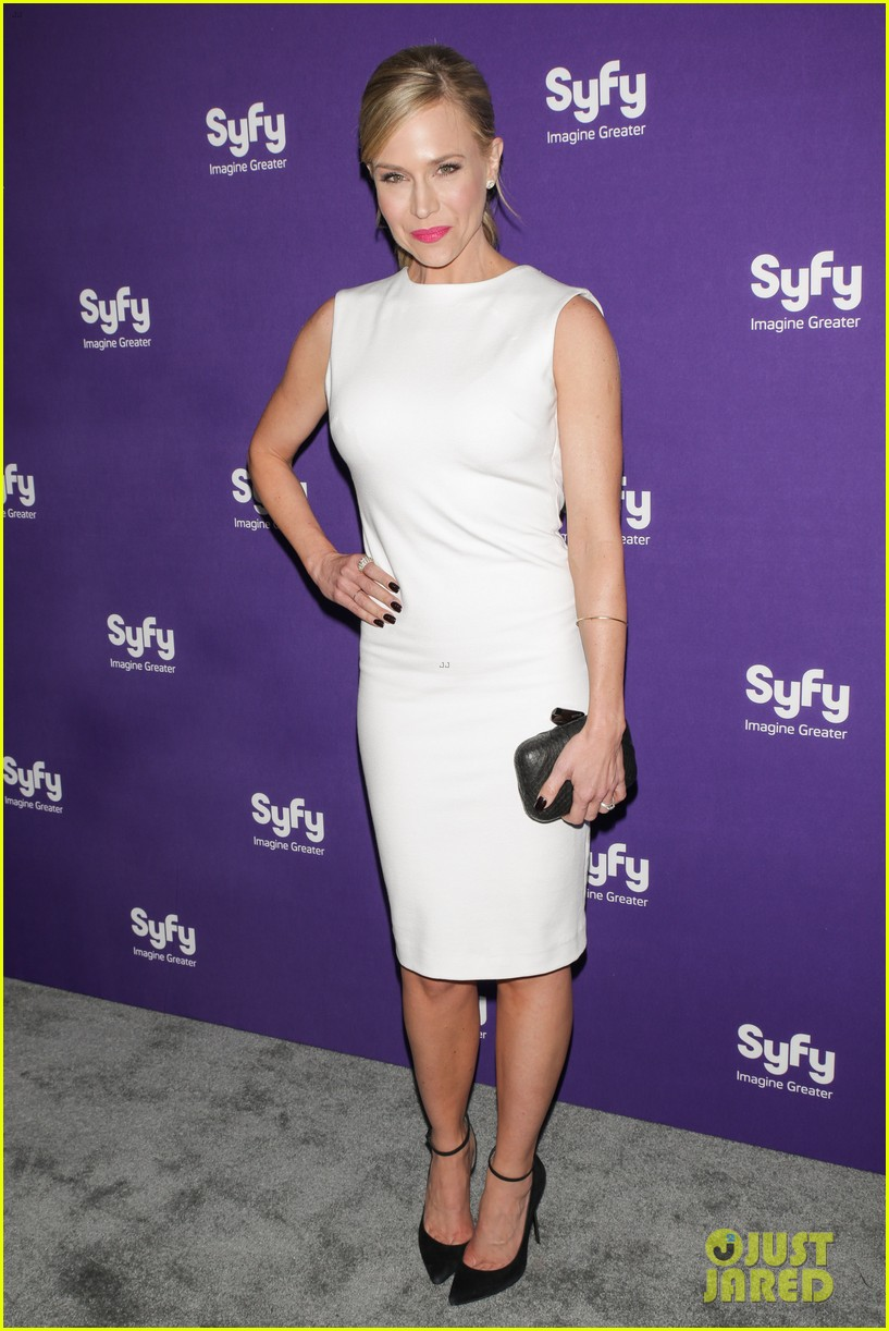julie benz sam witwer syfy upfronts 2013 012847279