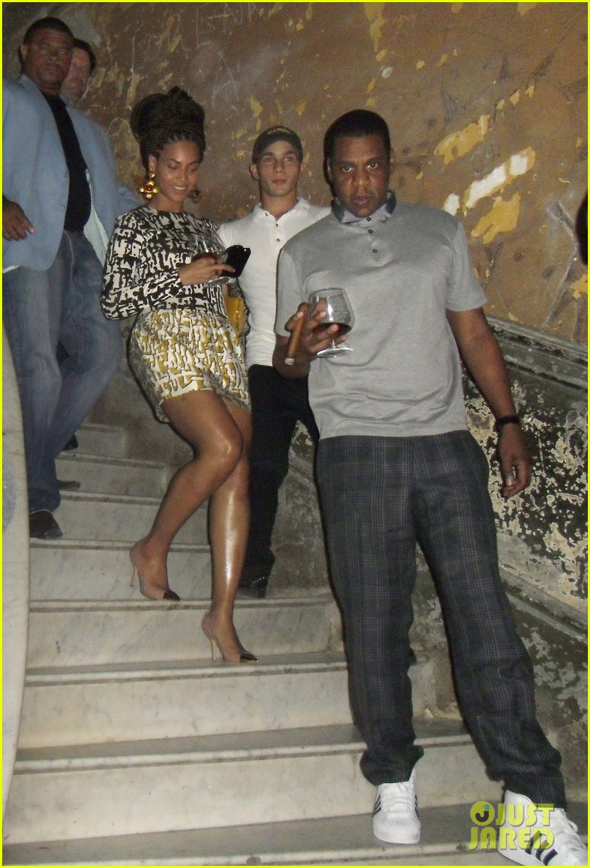 beyonce jay z celebrate fifth anniversary in havana 032843684