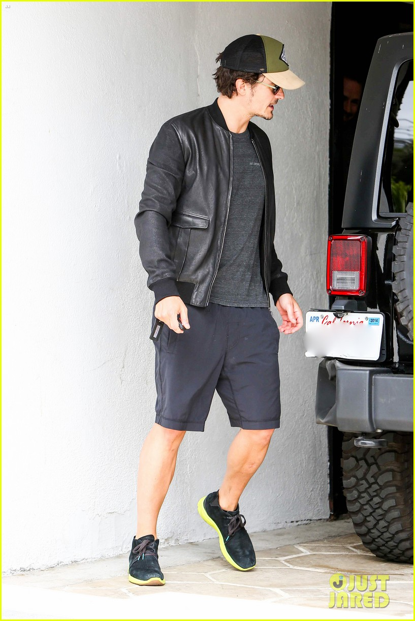orlando bloom weho workout 142843334