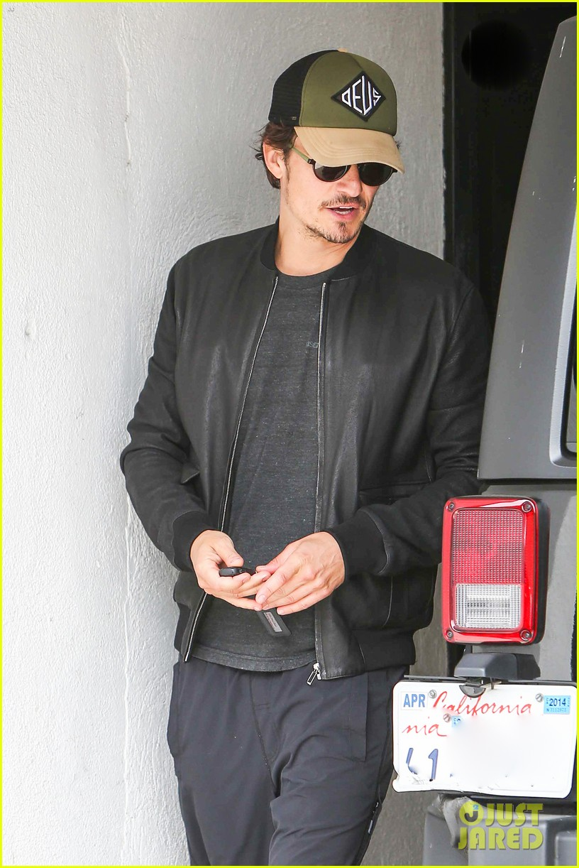 orlando bloom weho workout 17