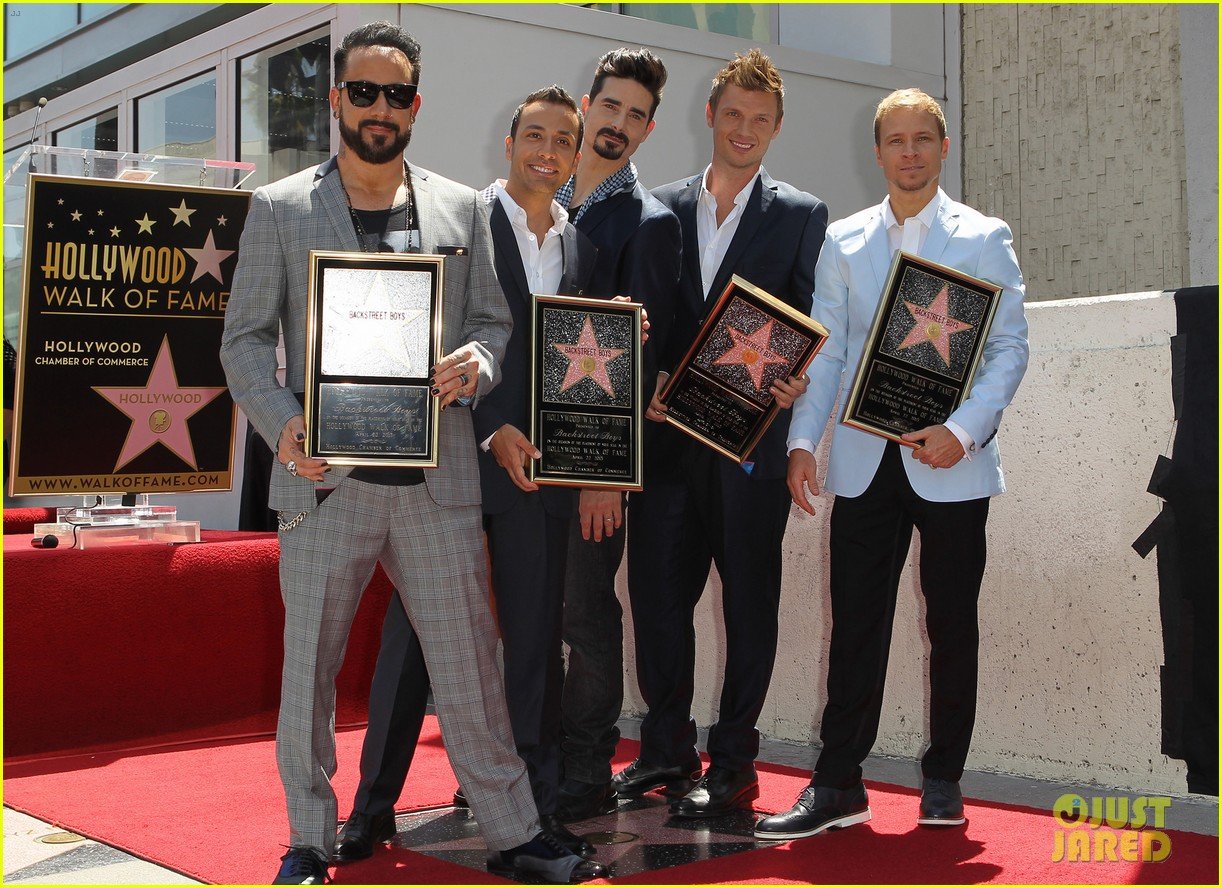 backstreet boys hollywood walk of fame ceremony 012855886