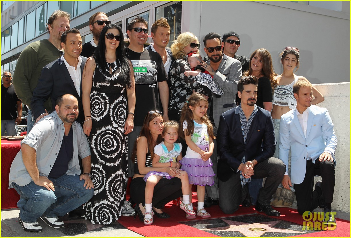 backstreet boys hollywood walk of fame ceremony 032855888