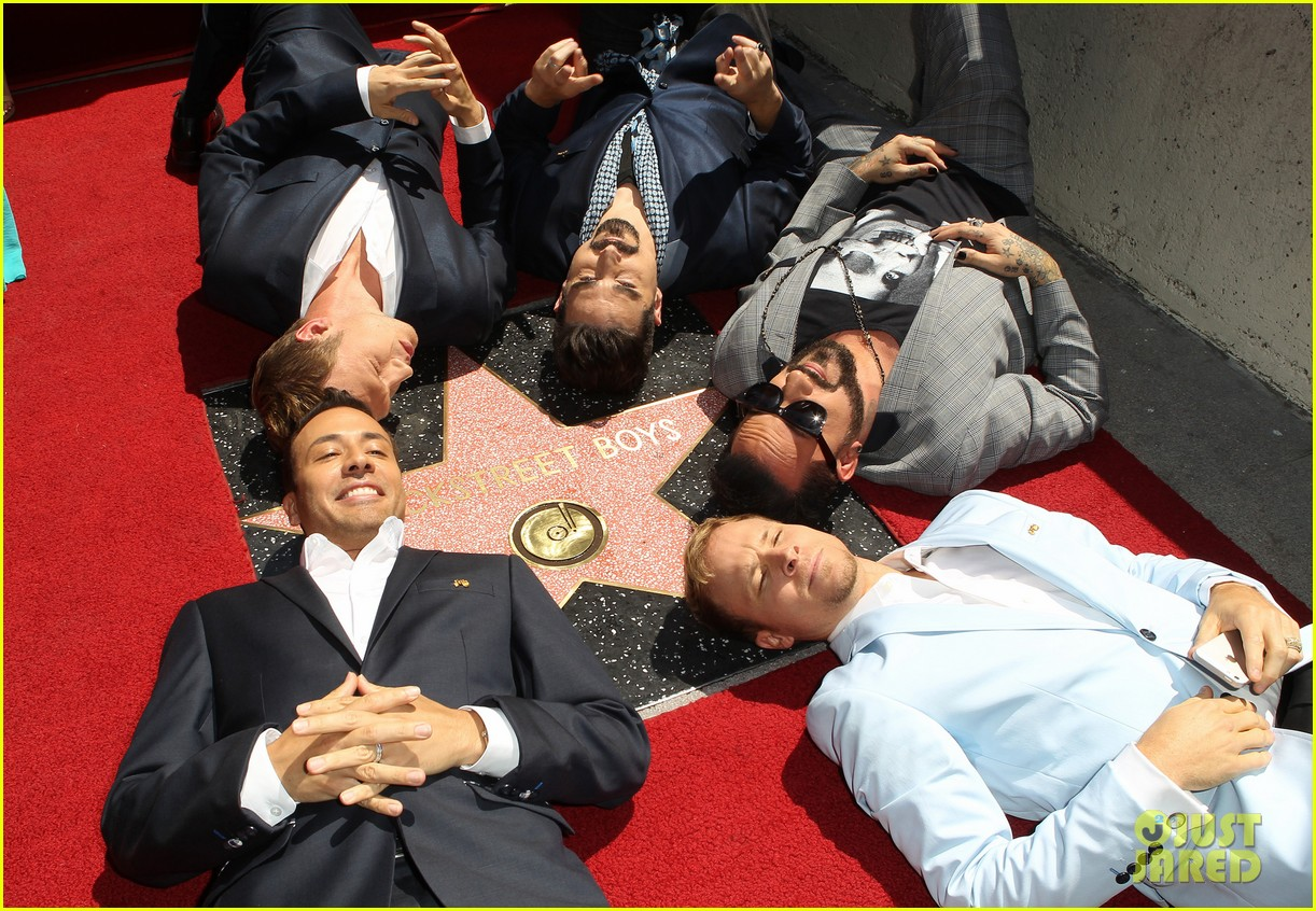 backstreet boys hollywood walk of fame ceremony 052855890
