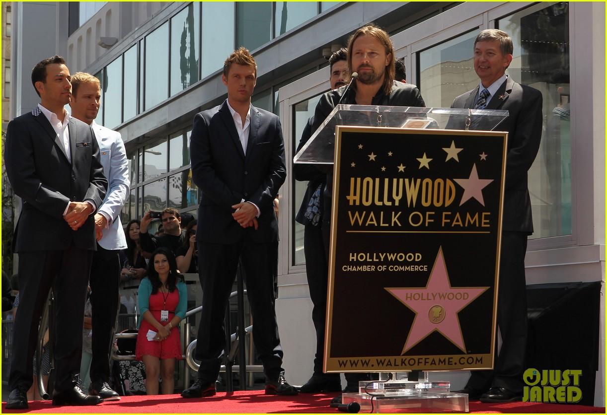 backstreet boys hollywood walk of fame ceremony 062855891