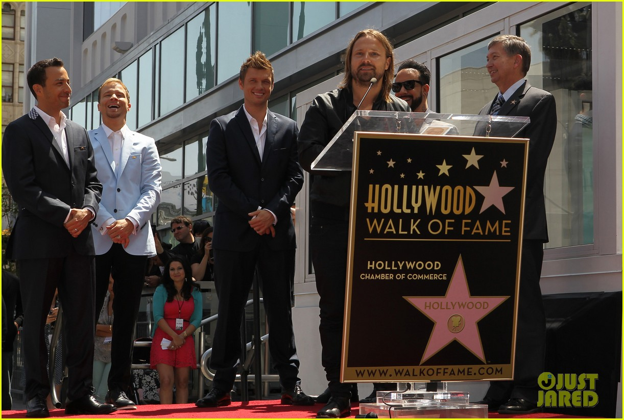 backstreet boys hollywood walk of fame ceremony 072855892