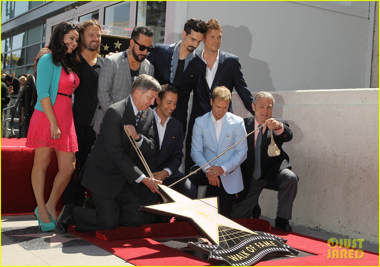 backstreet boys hollywood walk of fame ceremony 10