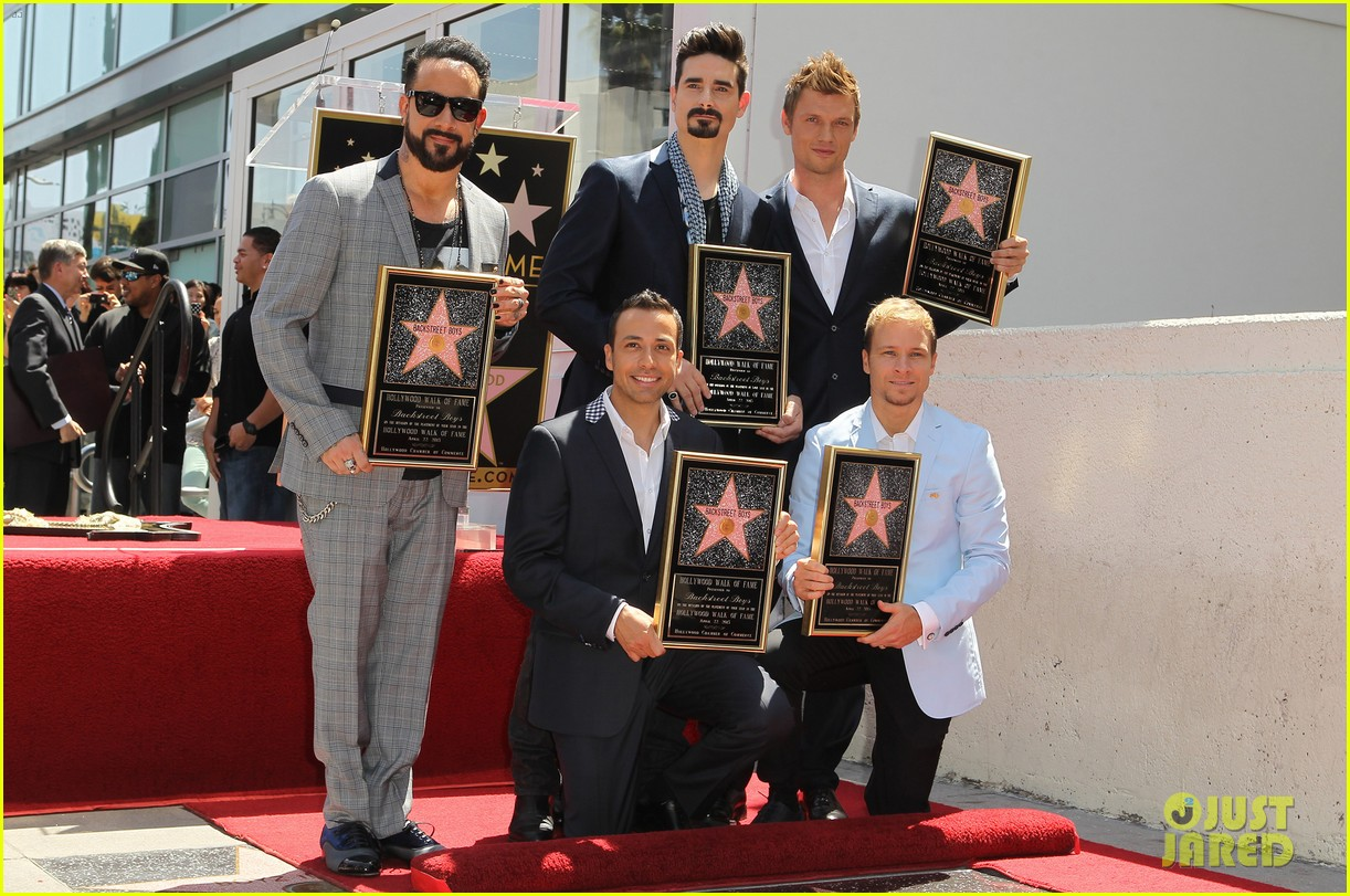 backstreet boys hollywood walk of fame ceremony 142855899