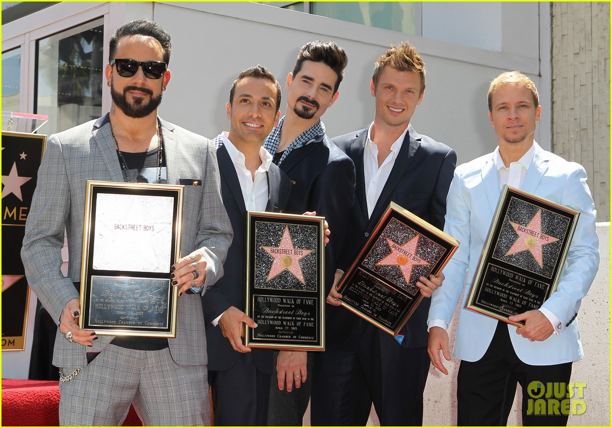 backstreet boys hollywood walk of fame ceremony 152855900