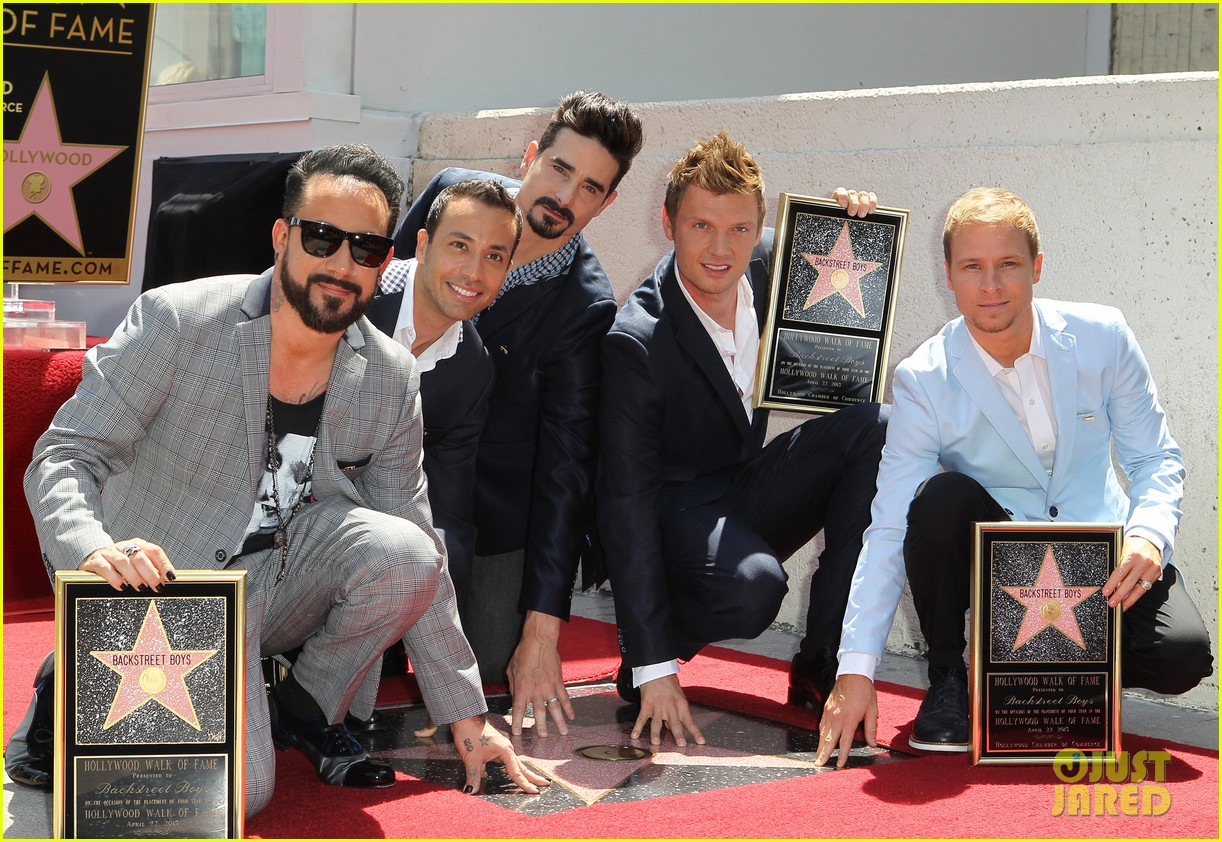 backstreet boys hollywood walk of fame ceremony 172855902