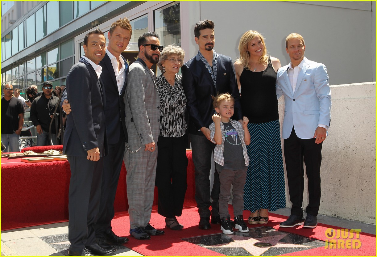 backstreet boys hollywood walk of fame ceremony 222855907