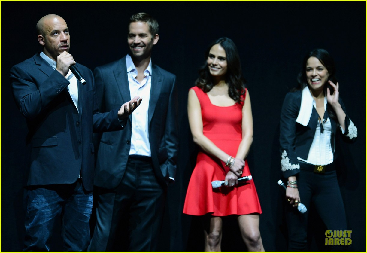 jordana brewster paul walker fast furious 6 cinemacon presentation 06