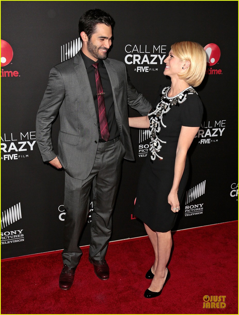 brittany snow amp tyler hoechlin call me crazy premiere