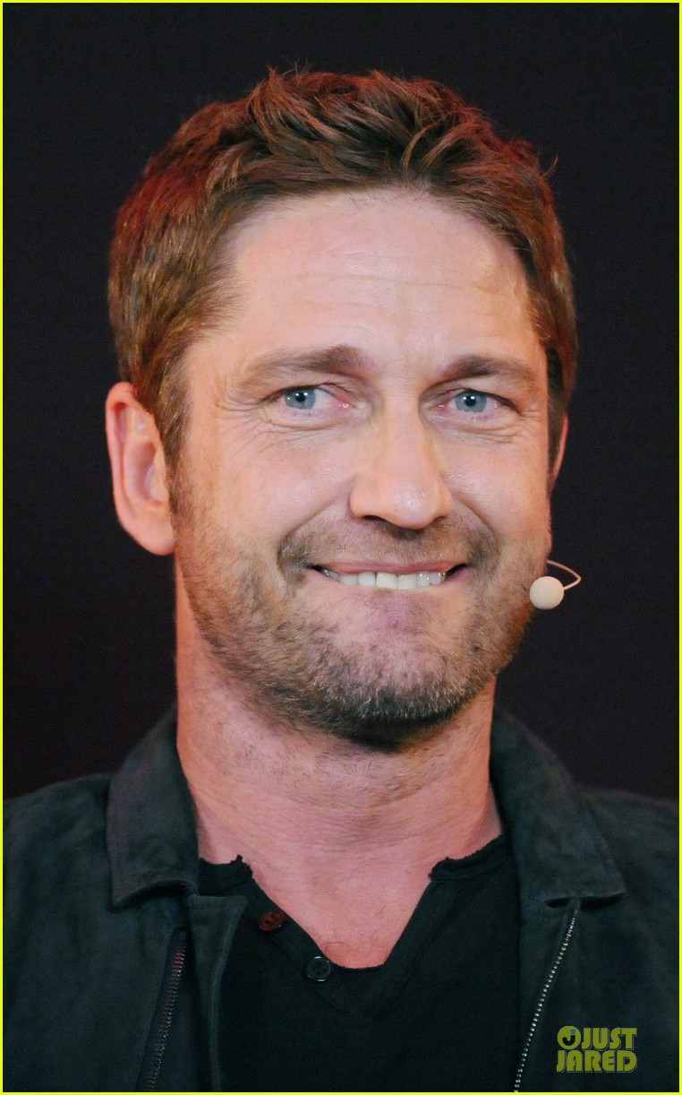 gerard butler olympus has fallen qa in london 112842137
