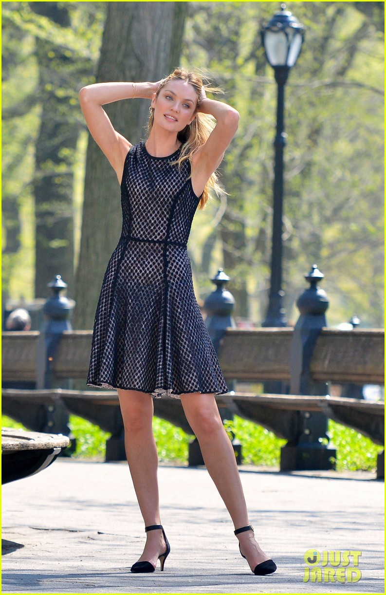 candice swanepoel central park photo shoot 142858039