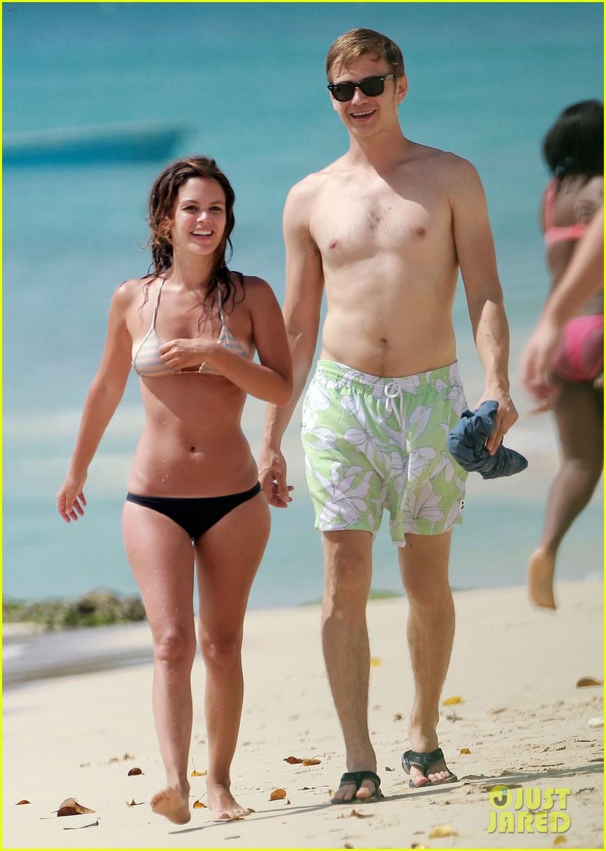 hayden christensen shirtless beach time with rachel bilson 132851534