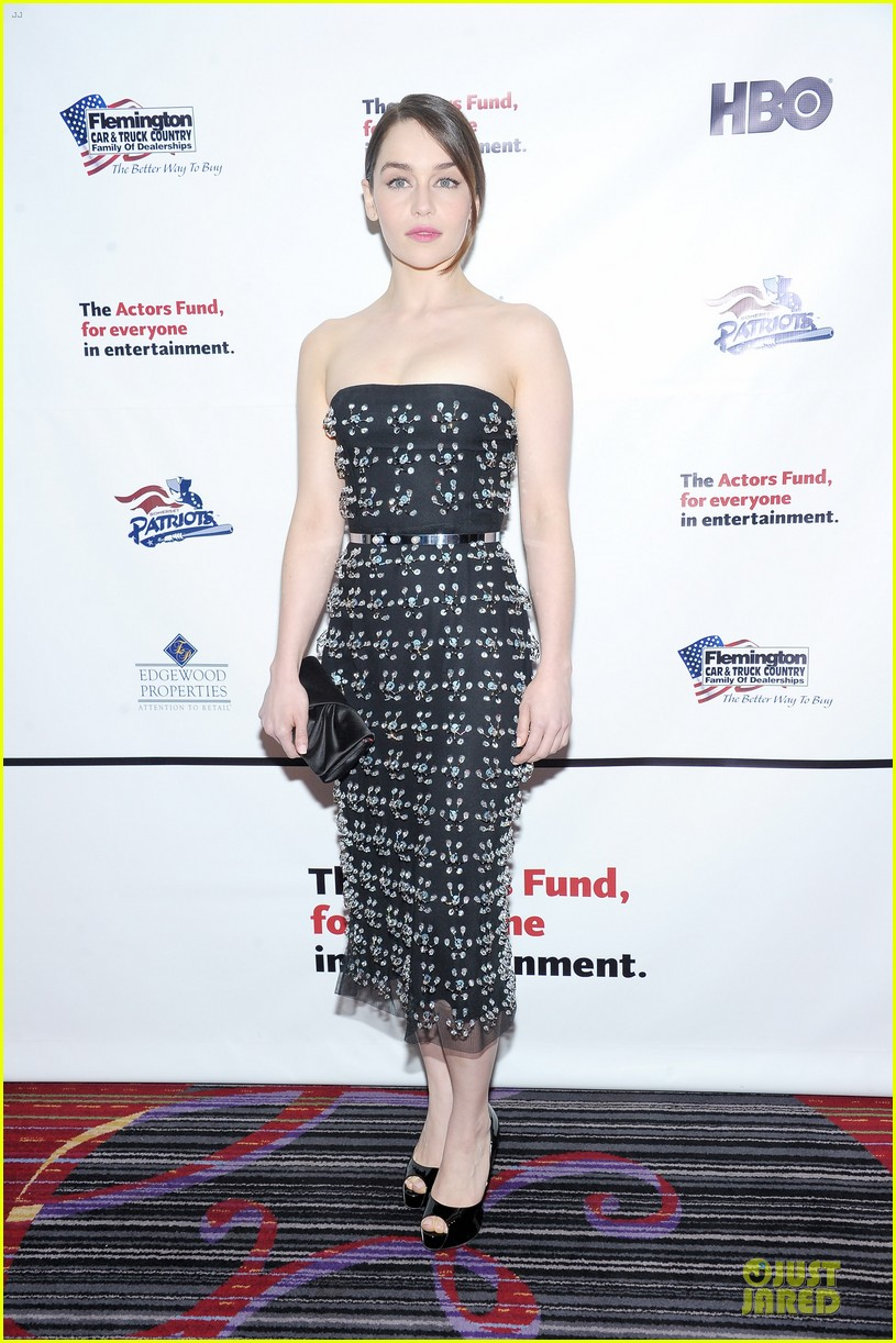 emilia clarke actors fund annual gala 012860910