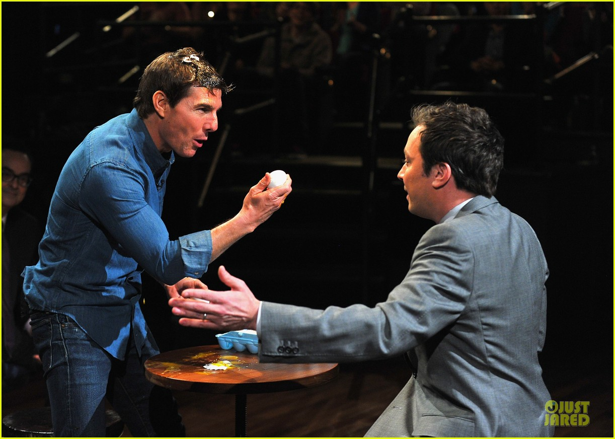 tom cruise egg roulette on fallon 072848517
