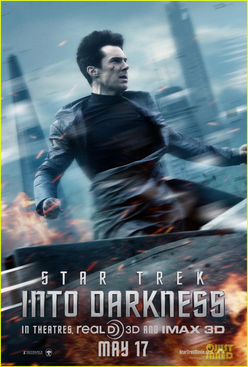 benedict cumberbatch new star trek into the darkness character poster 052851018