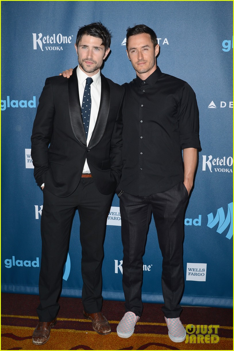 matt dallas blue hamilton glaad media awards 2013 032854475