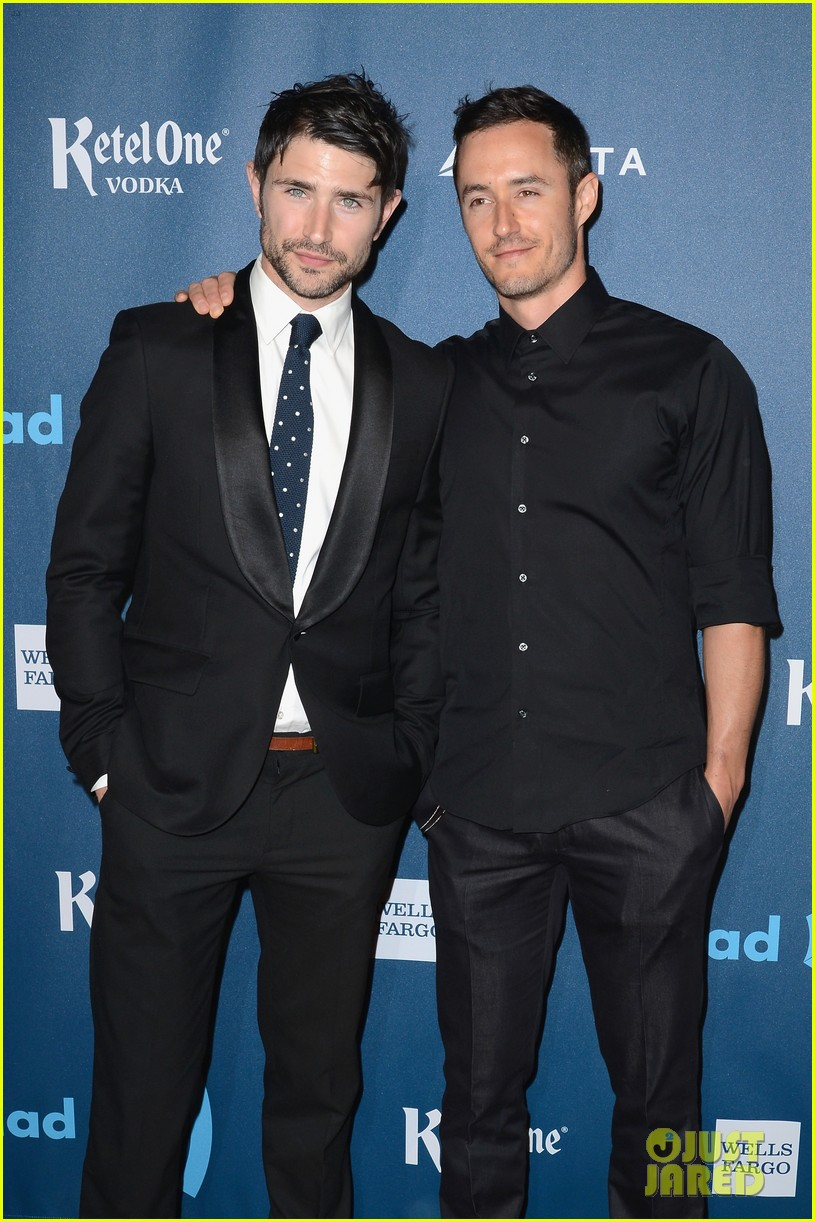 matt dallas blue hamilton glaad media awards 2013 042854476