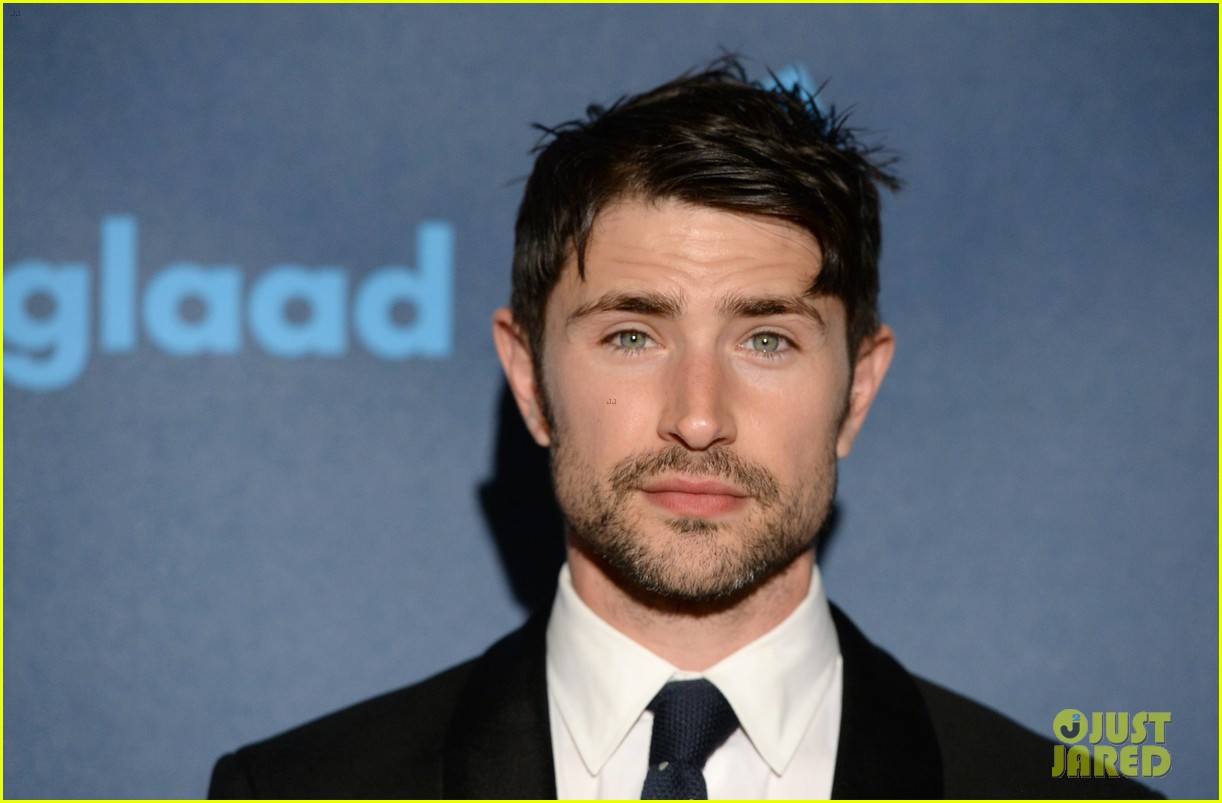 matt dallas blue hamilton glaad media awards 2013 06