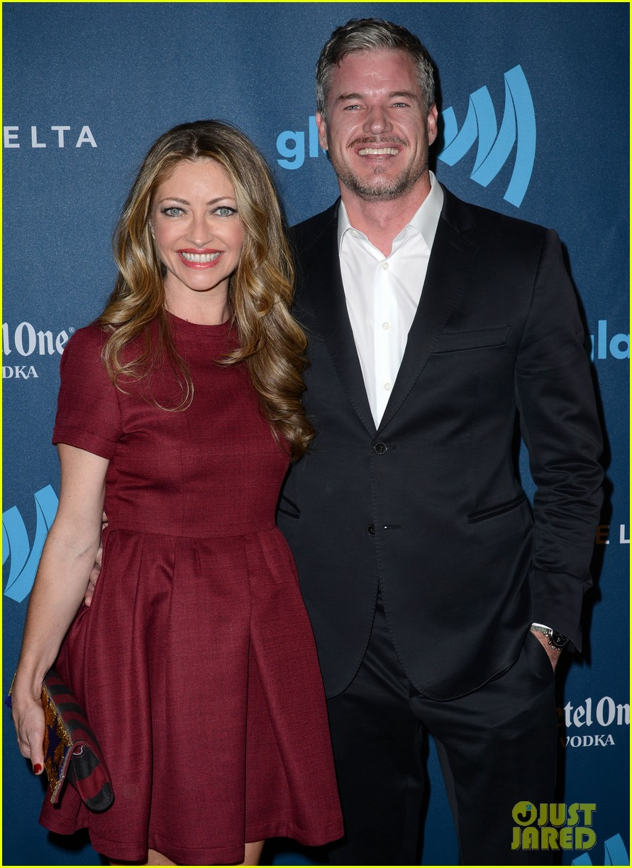 eric dane rebecca gayheart glaad media awards 2013 022854543