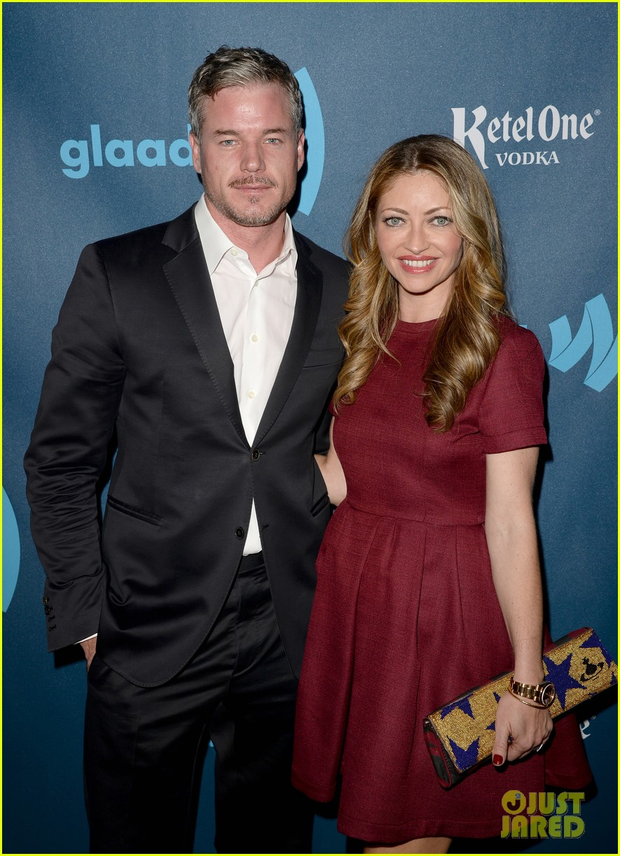 eric dane rebecca gayheart glaad media awards 2013 14