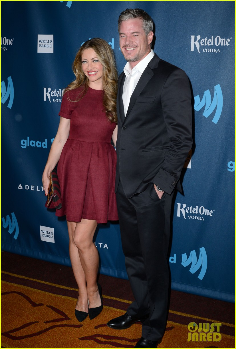 eric dane rebecca gayheart glaad media awards 2013 15