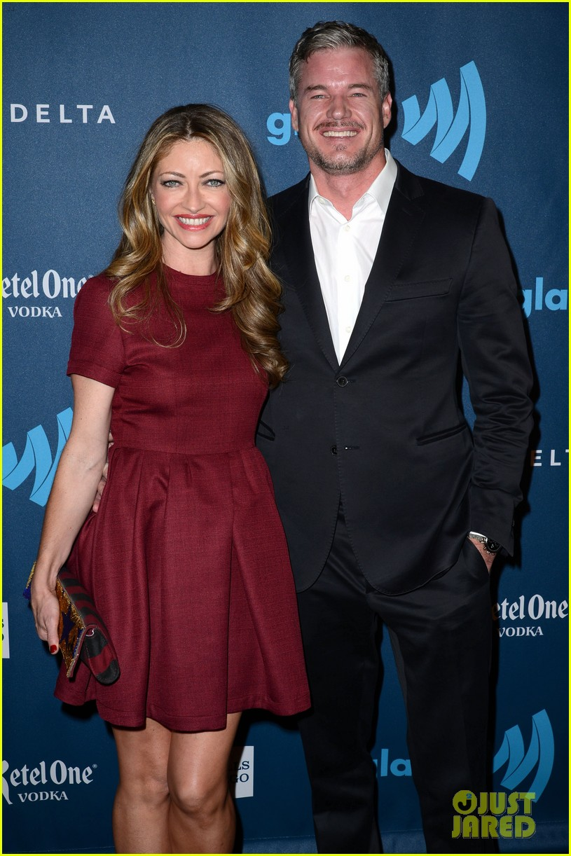 eric dane rebecca gayheart glaad media awards 2013 182854559