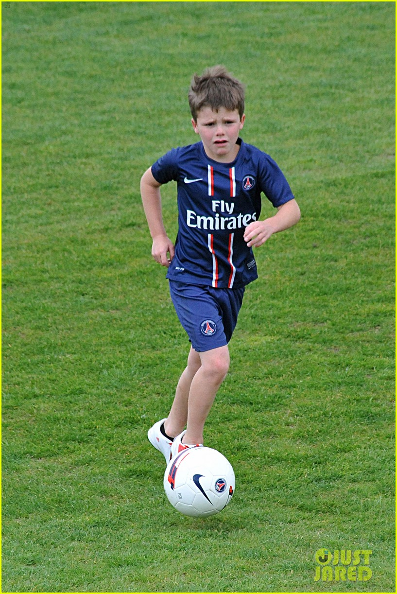 david beckham soccer camp with his sons 022853800