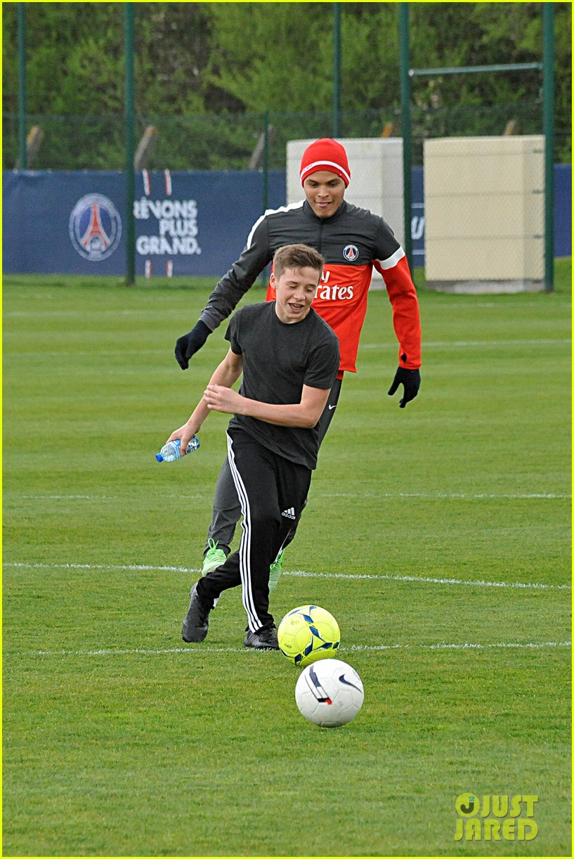 david beckham soccer camp with his sons 132853811