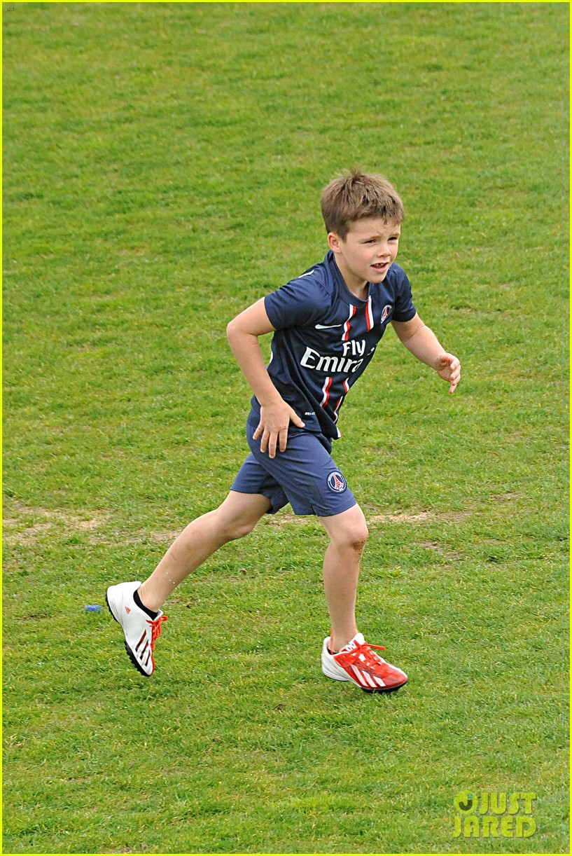 david beckham soccer camp with his sons 182853816