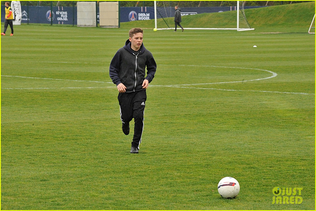 david beckham soccer camp with his sons 202853818